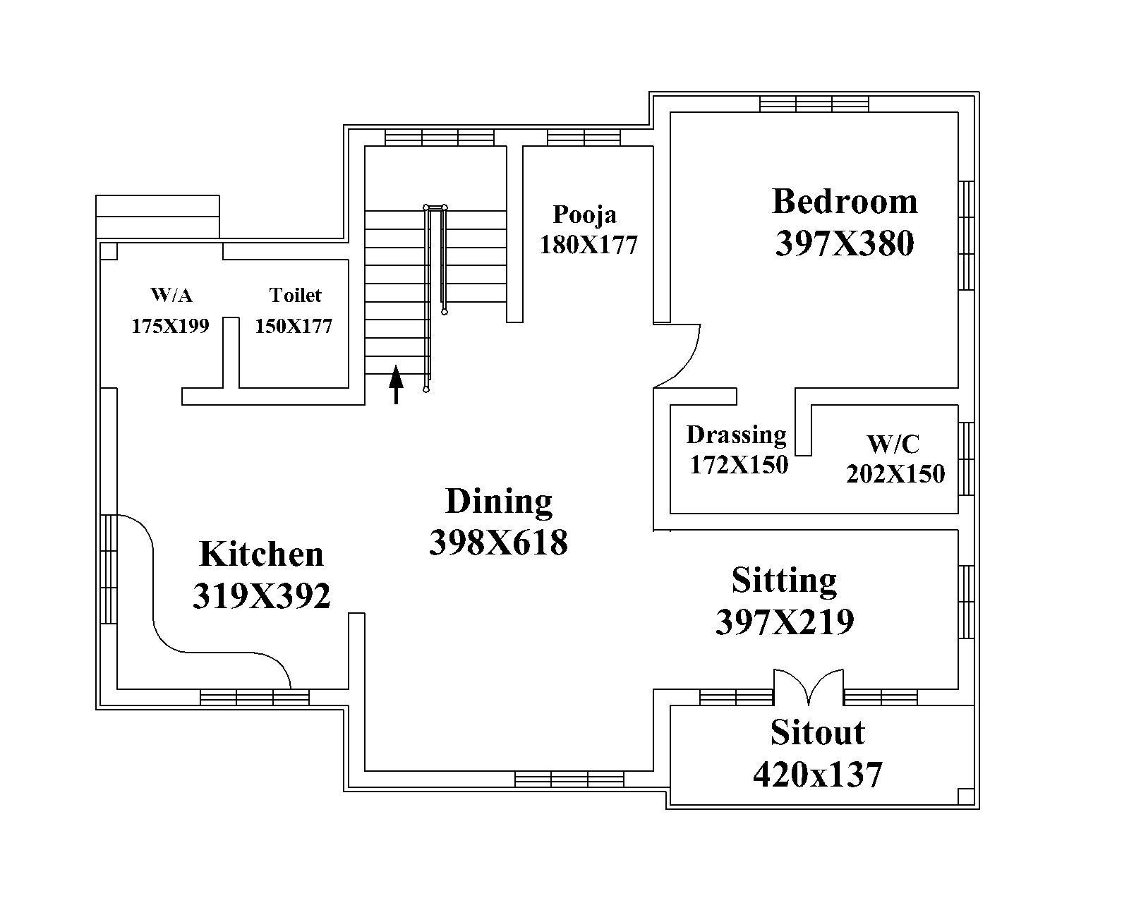 kerala model house floor plans