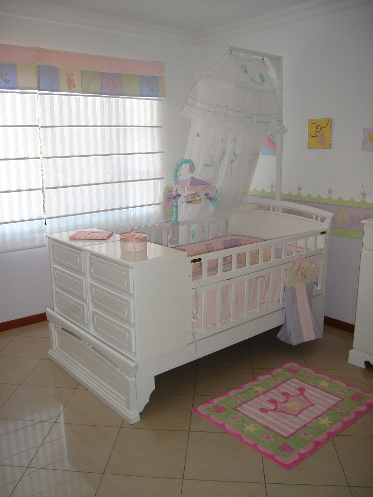 Yeshia decoracion de dormitorios for Dormitorio de bebe nina
