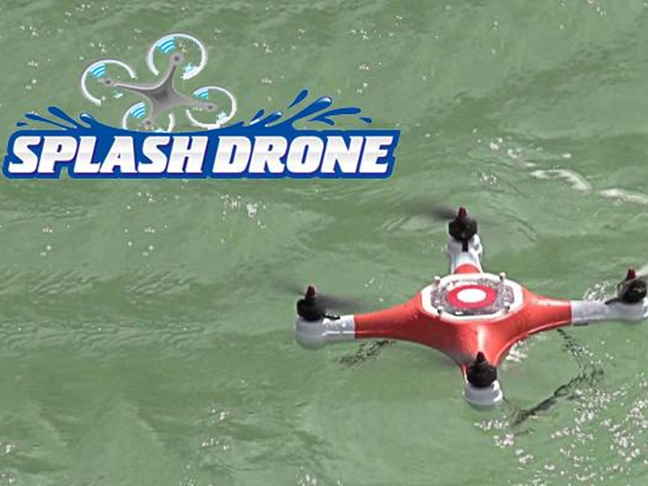 SPLASH DRONE, el drone al que le gusta el agua