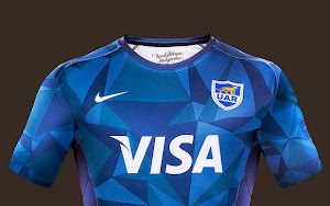 Nueva camiseta alternativa de Los Pumas