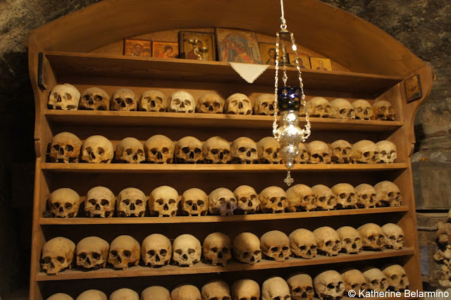 Great Meteoron Monastery Megalo Meteoro Ossuary Meteora Central Greece Attractions