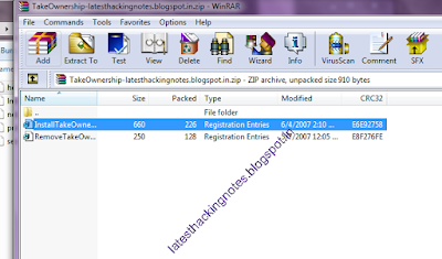 take ownership in windows 7