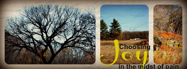 Choosing JOY in the midst of pain