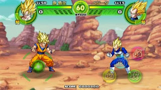 Screenshots of the Dragon ball: Tap battle for Android tablet, phone.