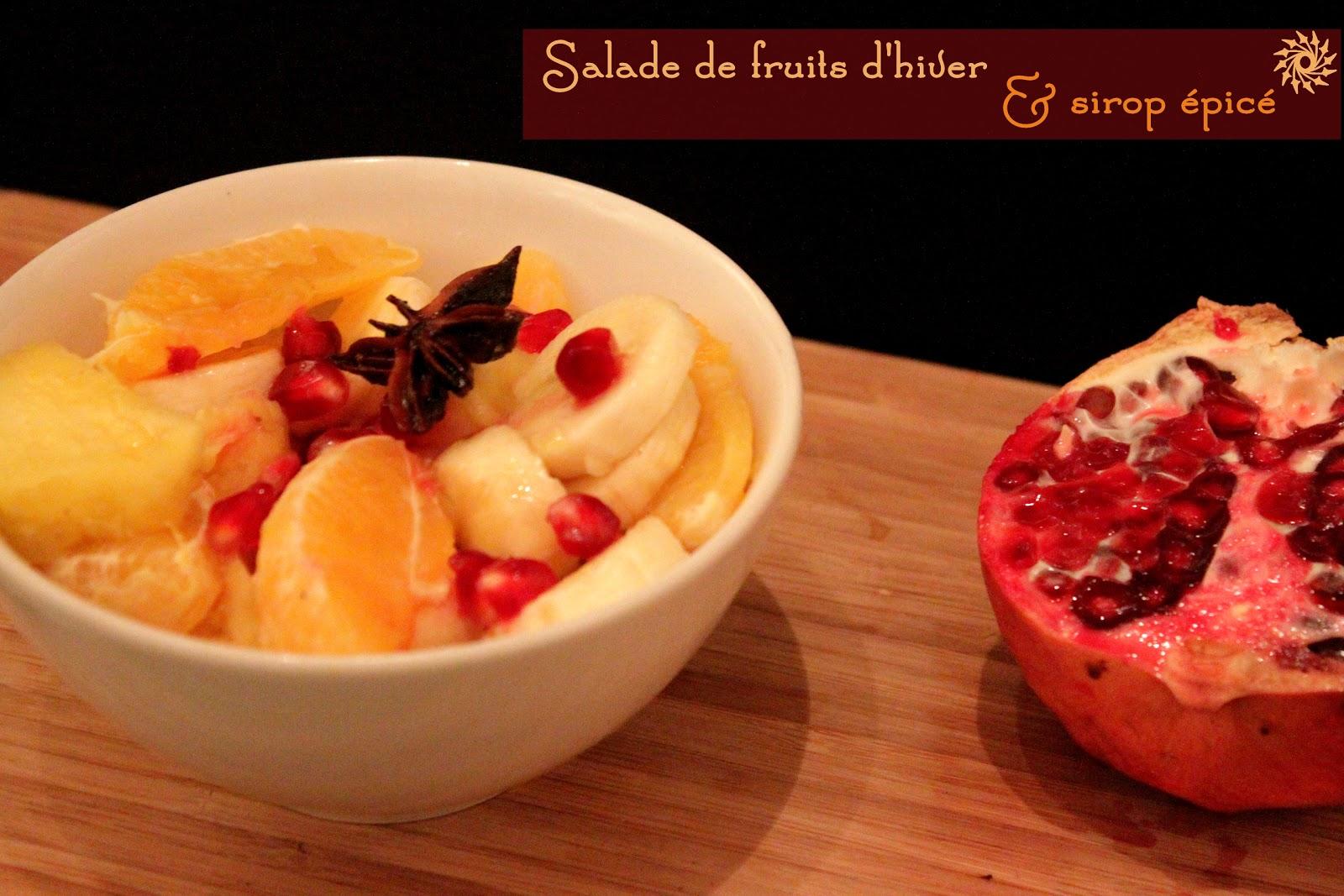 J 39 ai tout mang le chocolat salade de fruits d 39 hiver et - Variete de salade d hiver ...