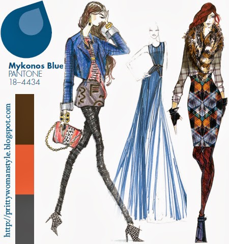 синьо миконос