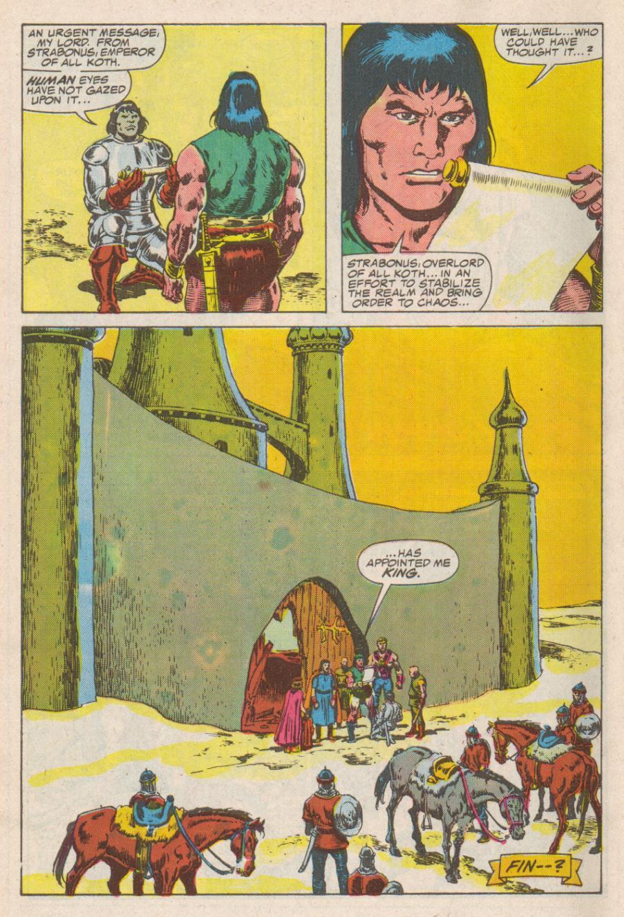Conan the Barbarian (1970) Issue #190 #202 - English 23