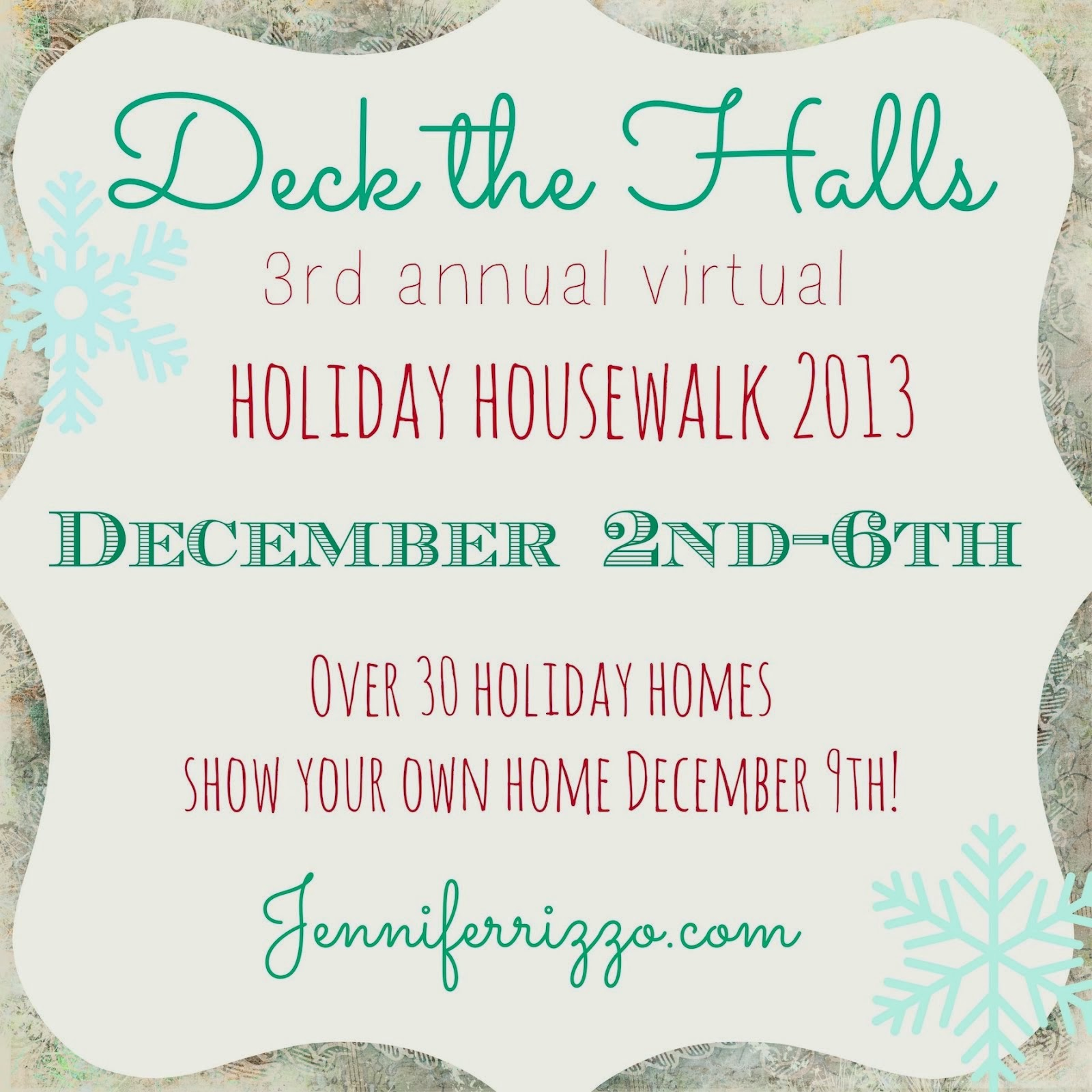 deck the halls holiday house walk!