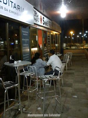 Seikõ Temakeria e Sushi Bar: Ambiente externo