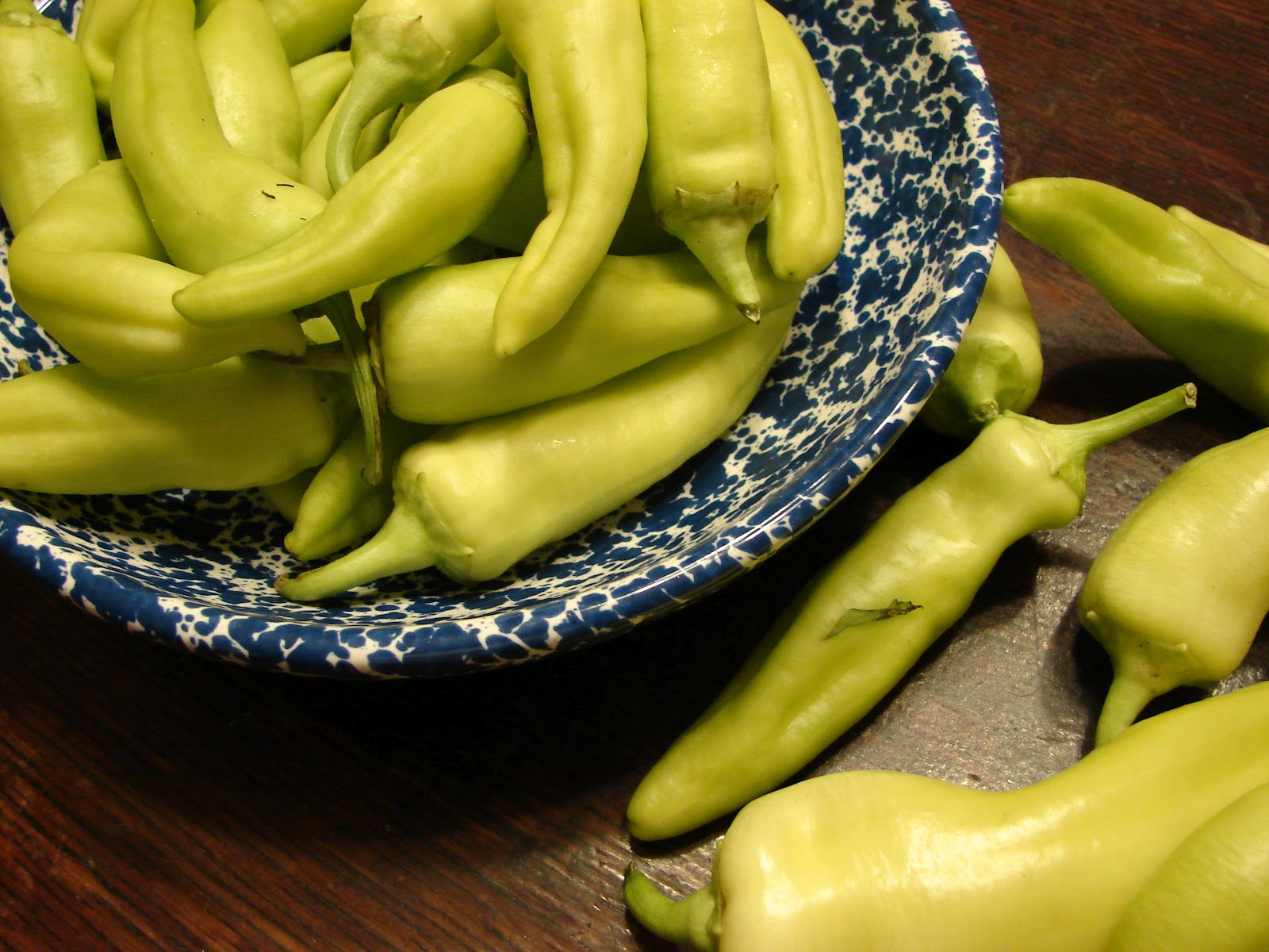 my blessed life: Pickled Banana Peppers