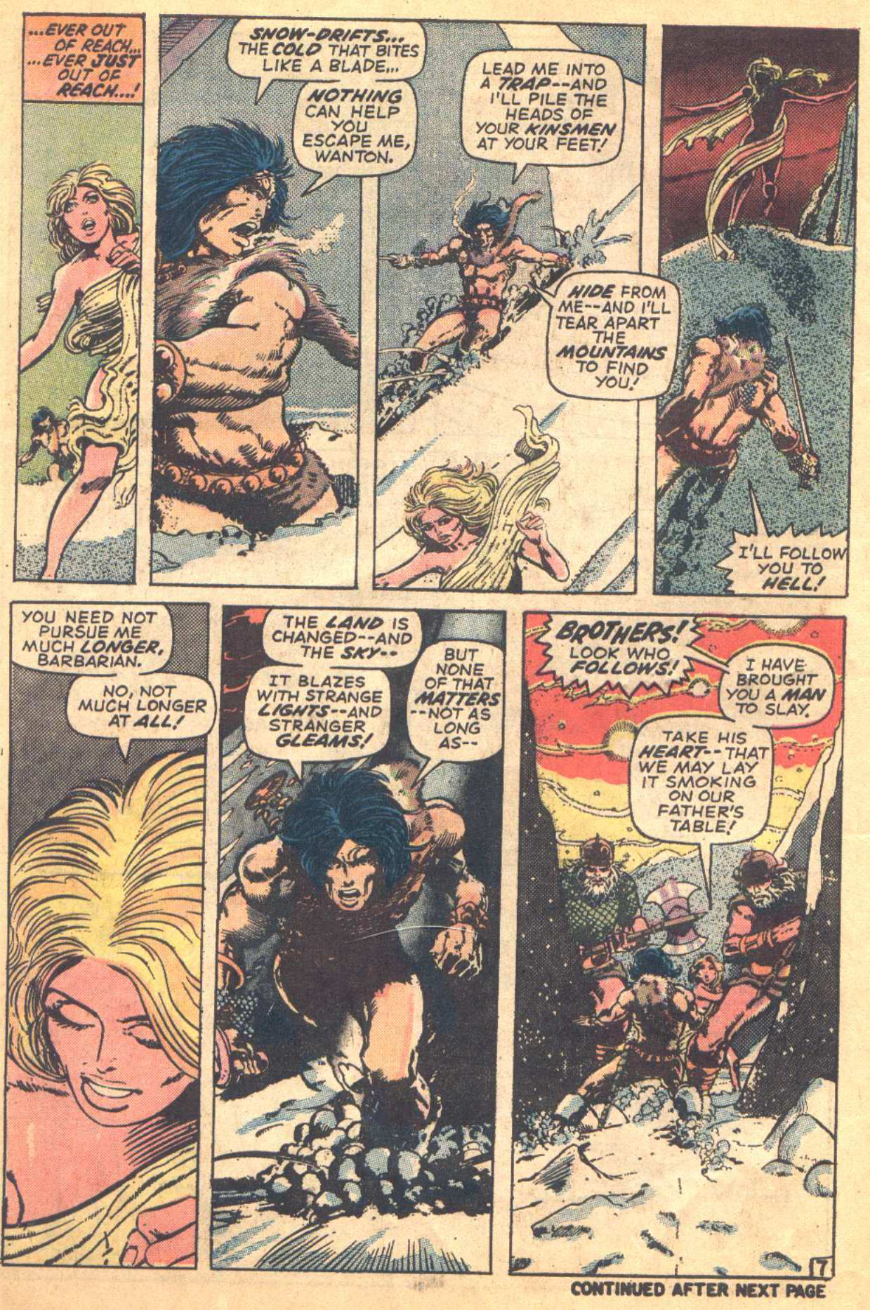 Conan the Barbarian (1970) Issue #16 #28 - English 7