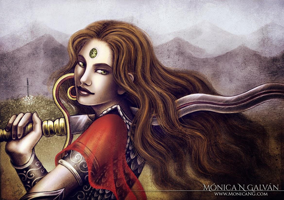 General of Riga by Enchanted Visions artist, Monica N. Galvan