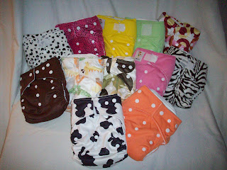 cloth diaper stash giveaway