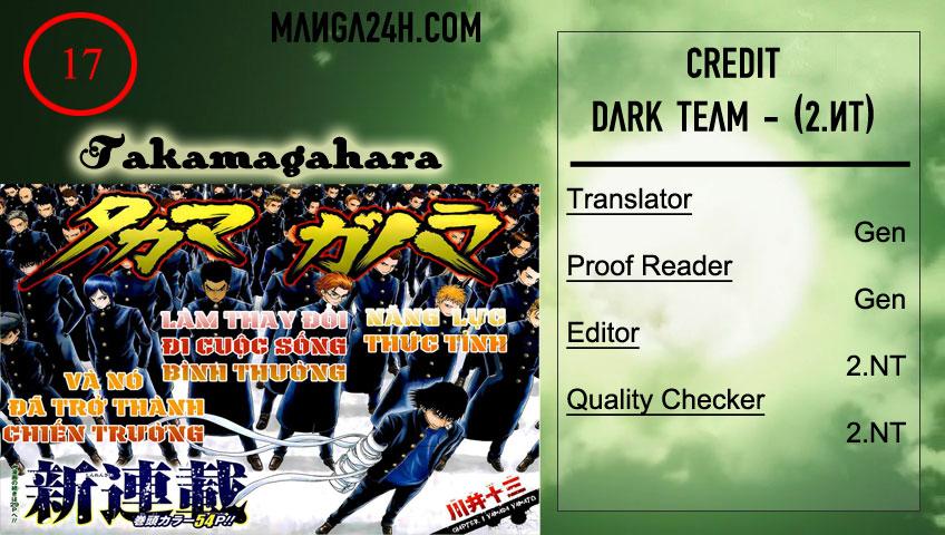 Takamagahara chap 17 Trang 1 - Mangak.info