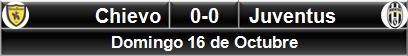 Chievo Verona 0-0 Juventus