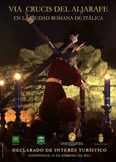 Vía Crucis del Aljarafe 2013 - Santiponce - Itálica
