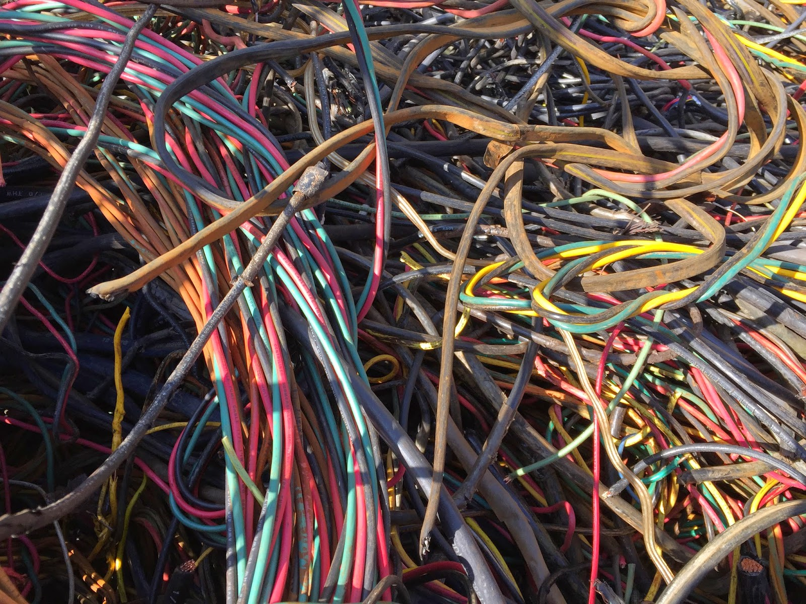Wire at Wilson Scrap Metal Recycling, 404 Maury Street S, Wilson ...