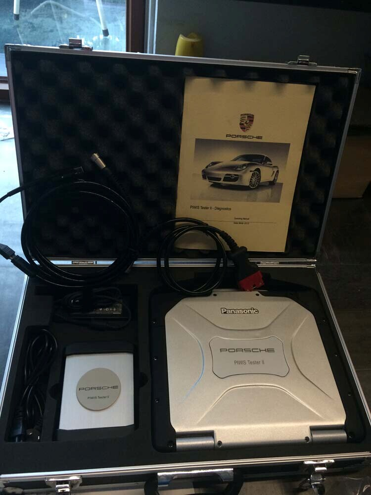 Porsche Piwis Tester 2 Piwis Ii With Cf30 Laptop