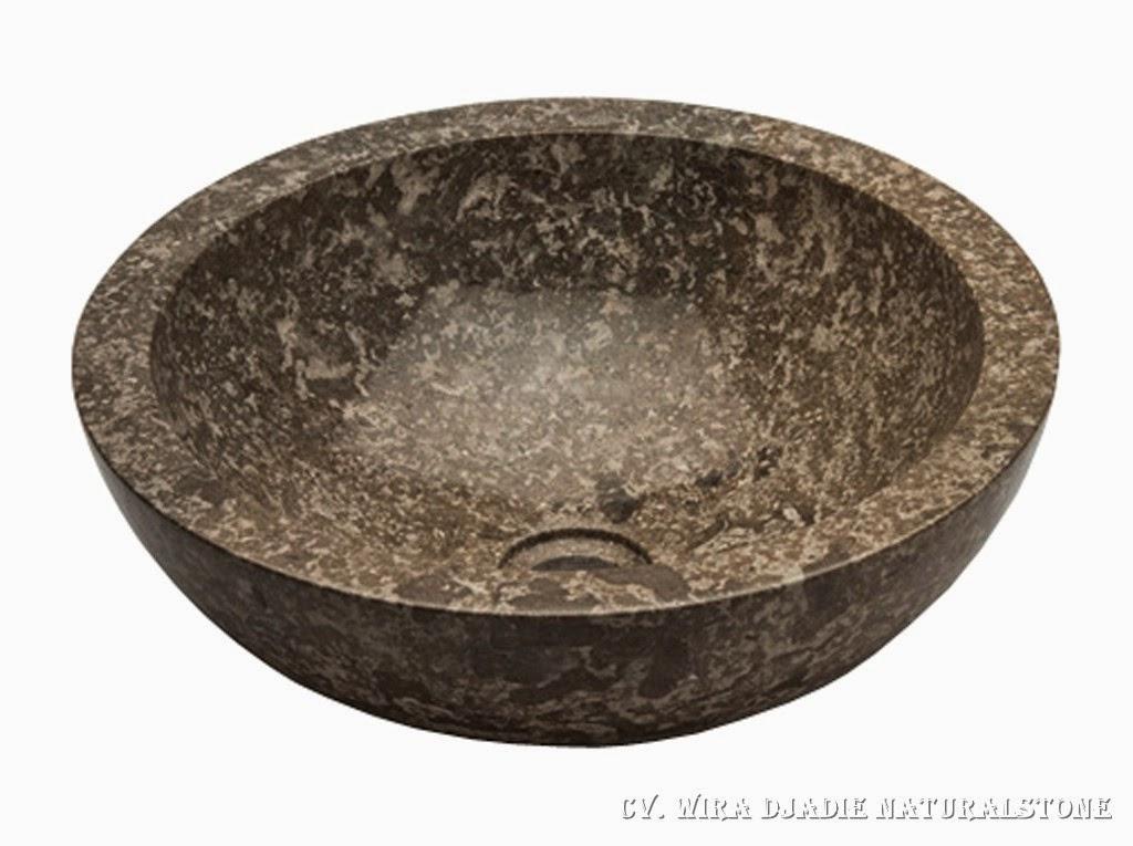 wash basin marble waschbecken marmor vasque marbre round tulungagung natural stone. Black Bedroom Furniture Sets. Home Design Ideas