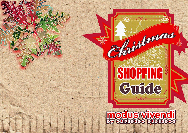 Christmas shopping guide by Modus Vivendi