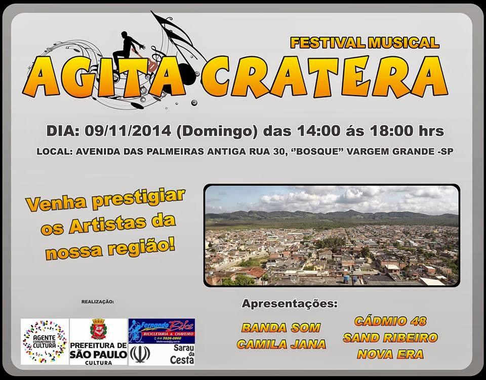 Agita Cratera ( Sarau Na Esquina + Sarau Na Esquina)