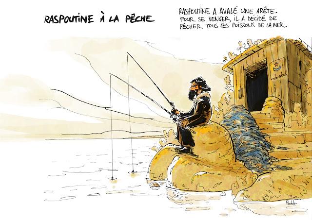 fanart hugo pratt Raspoutine
