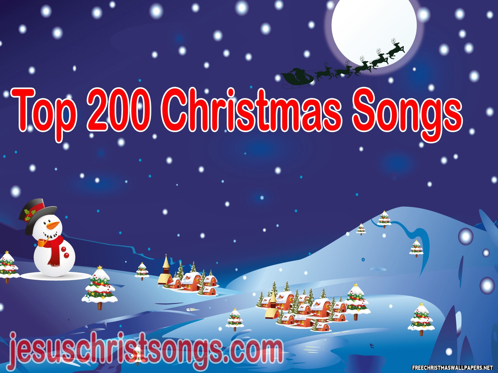 Top 200 Christmas Songs Forever Free Download | Christian Songs ...