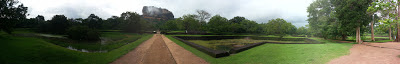 Sigiriya Water Gardens, Sri Lanka, high quality pictures, panorama photographs, pool, road, beautiful pools, fountains, terraces
