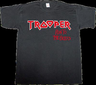 iron maiden heavy heavy metal beer rock t-shirt ephemeral-t-shirts