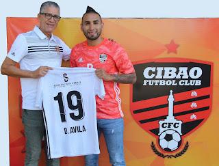 Cibao FC continuó fortaleciendo su línea de ataque al fichar al Delantero Centro ecuatoriano Diego Ávila