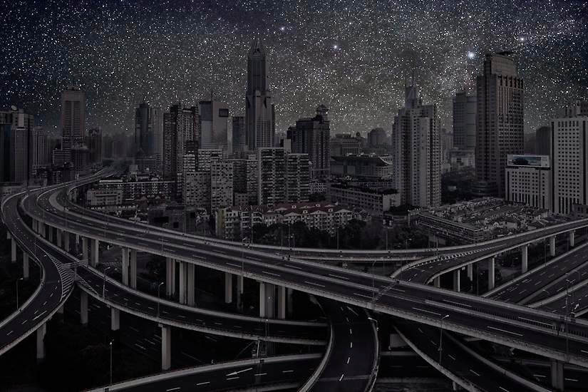 Shanghai - You'll Never Look at the Night Sky in the Same Way