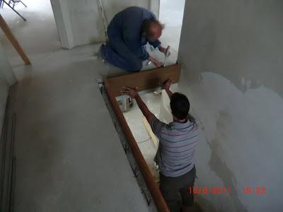 Jenny und stefan bauen ein haus herausforderung treppenkante for Treppenauge verkleiden
