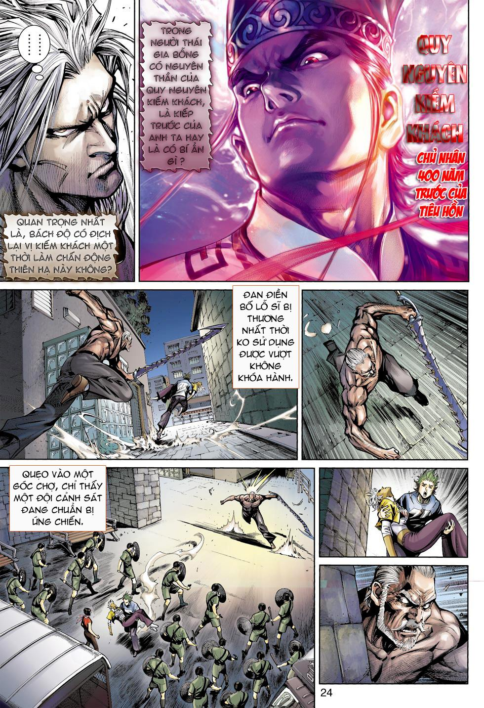 Thần Binh 4 chap 16 - Trang 24