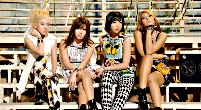 screencap 2ne1 falling in love mv