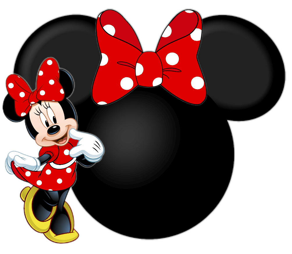 the gallery for  gt  pink minnie mouse png Minnie Mouse Bow Clip Art Mickey Mouse Outline Clip Art
