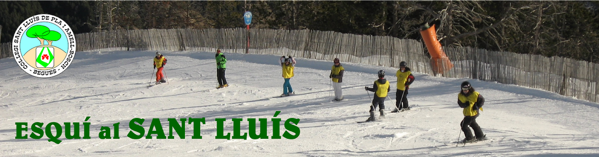 Esquí al Sant Lluís