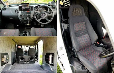 Modification Daihatsu Gran Max Blind Van, Car Grooming Items also