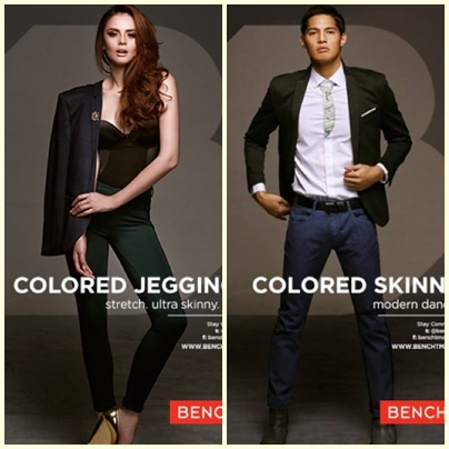 Georgina Wilson and Borgy Manotoc for Bench Back to School (Denim) campaign
