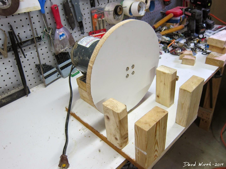 mockup, disc sander, frame
