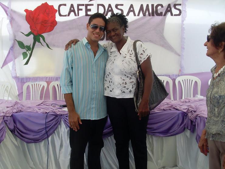 ADRIANO E A PREFEITA DOMINGAS