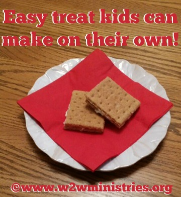 Easy treat #kids can make on their own! #recipe #cookie