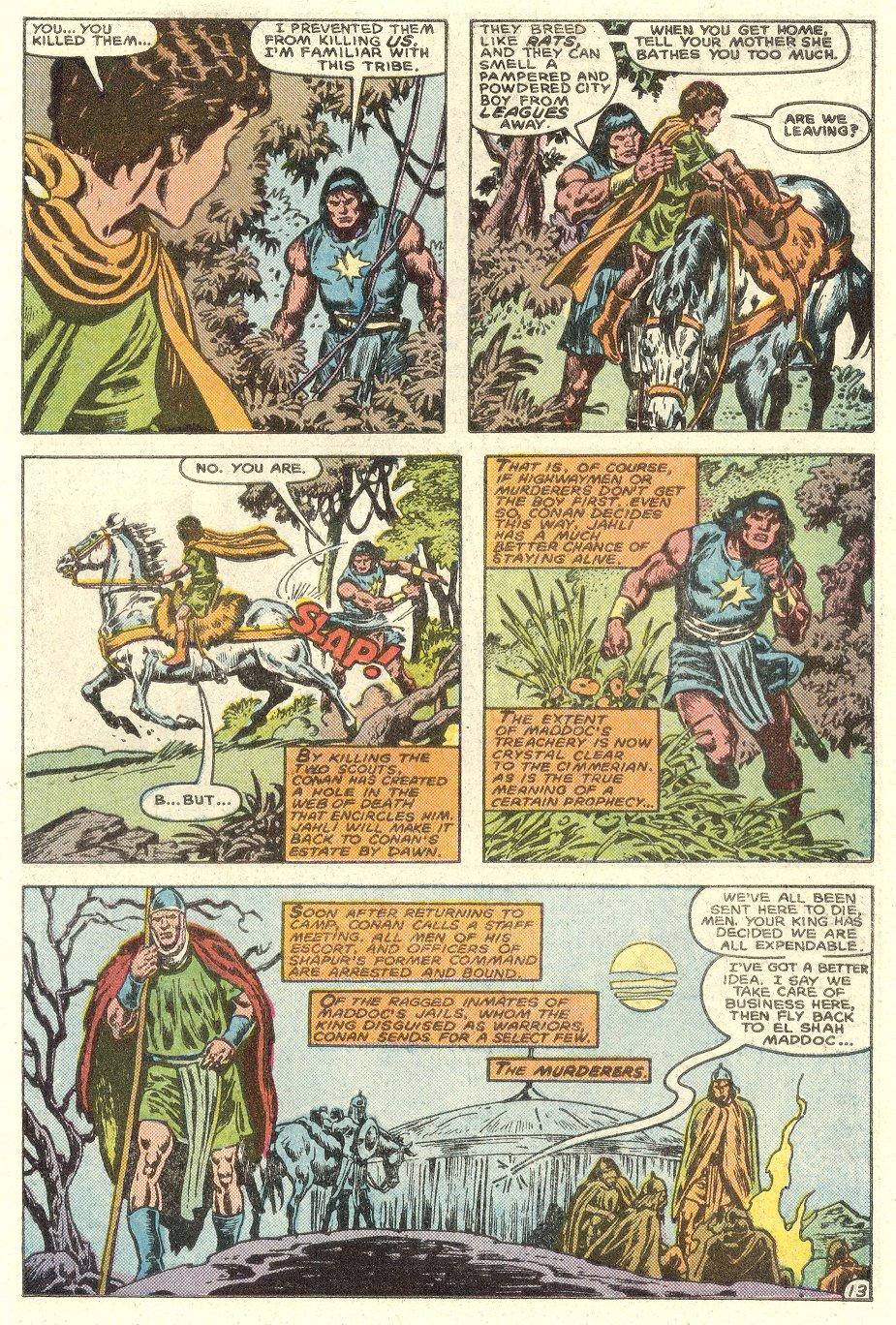 Conan the Barbarian (1970) Issue #182 #194 - English 14