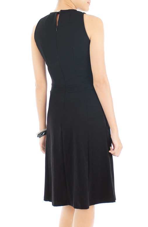 Moon Dancer LUXE Midi Dress - Black