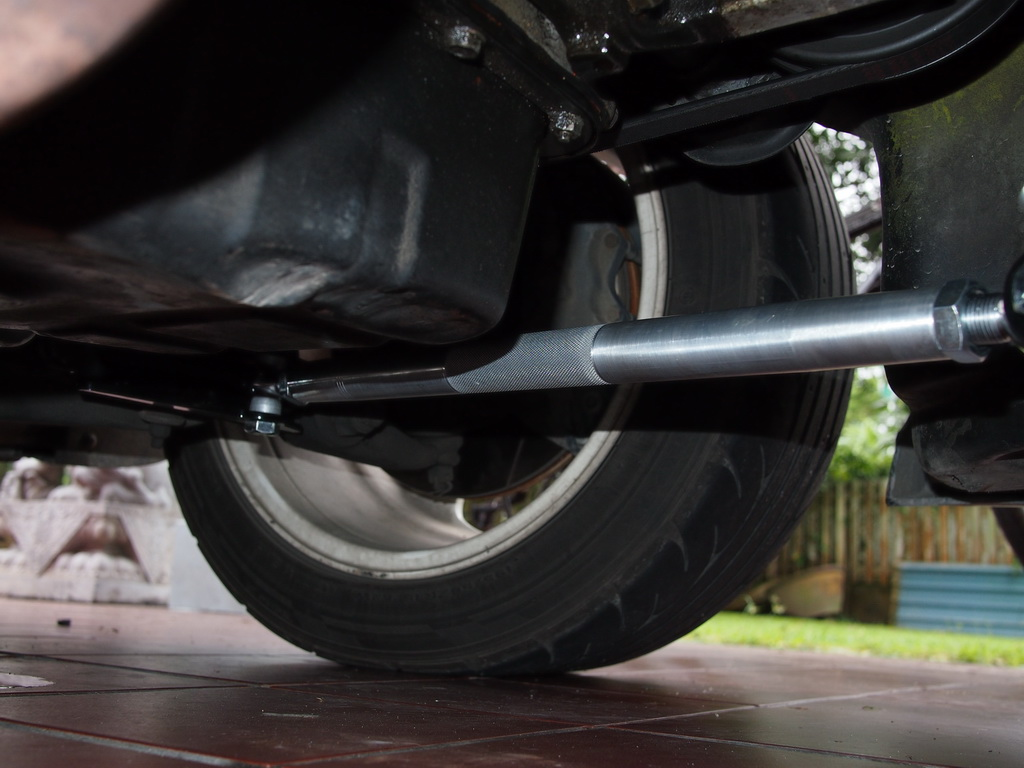 k tuned traction bar instructions