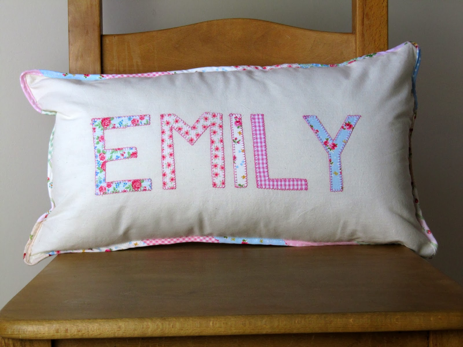 Personalised cushion ByElsieB