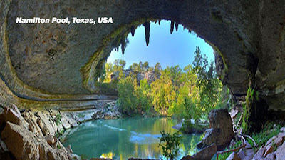 Hamilton Pool protect is a famous swimming hole