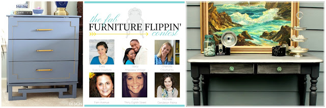 fabflippincontest, furniture contest, furniture makeover, refinished furniture, diy, #fabflippincontest