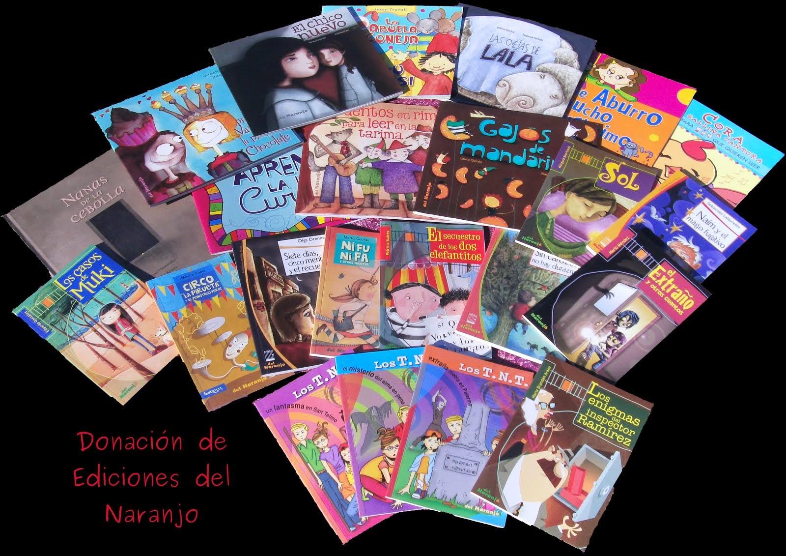 Donación Ediciones del Naranjo (2014)