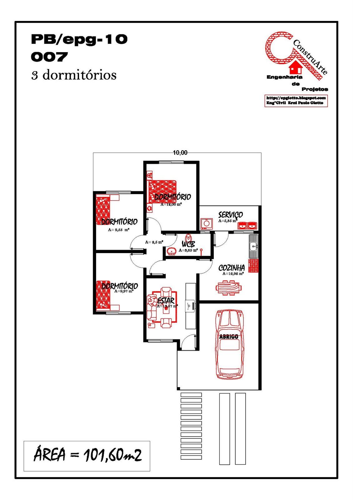 Imagens de #B01B1B Planta Baixa De Casas Terreas 9 Car Interior Design 1131x1600 px 3412 Bloco Cad Banheiro Planta Baixa
