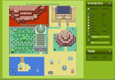 free pokemon online rpg pokemon-area screenshot